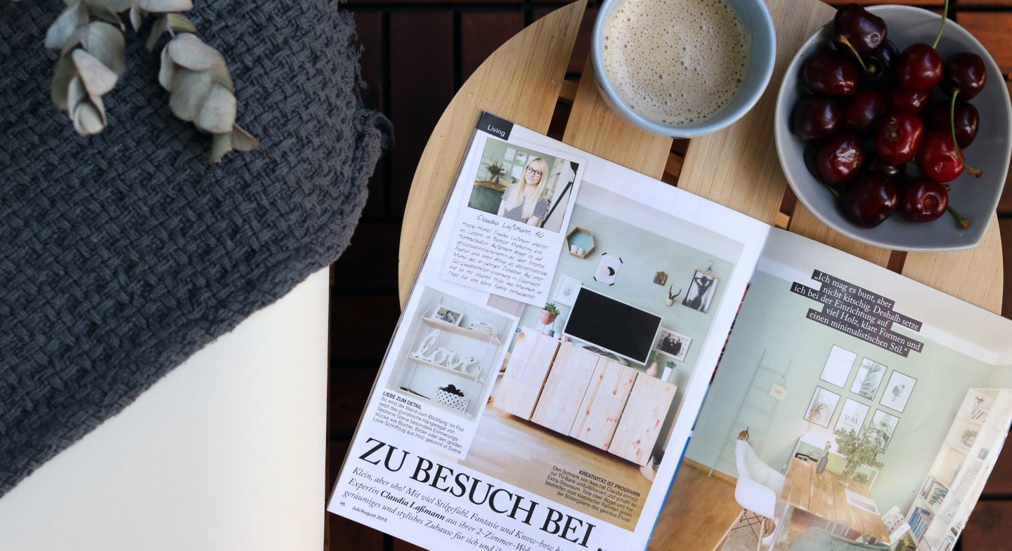 Hereinspaziert: Meine Homestory im Mrs City Magazin!